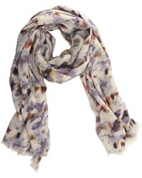 Suno Printed Wool Scarf In Sky multicolor - Lyst