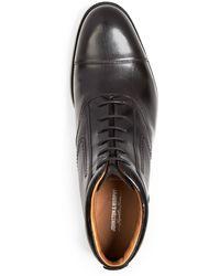 Johnston & Murphy - Stratton Cap Toe Boots - Lyst