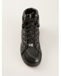 Michael Kors Boerum Studded Ankle Trainers - Lyst
