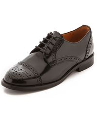 Madewell Keaton Oxfords - Black - Lyst