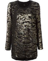 Isabel Marant Sequin Top - Lyst