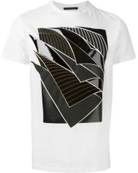 Christopher Kane Pages Applique T-Shirt - Lyst