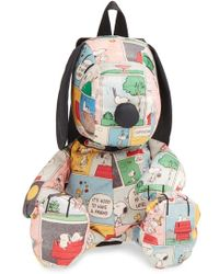 LeSportsac - Peanuts Snoopy Comic Backpack - Lyst