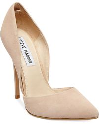 Steve Madden Women'S Varcityy Two-Piece Pumps - Lyst