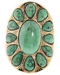Aurelie Bidermann Natural Stone Ring - Lyst