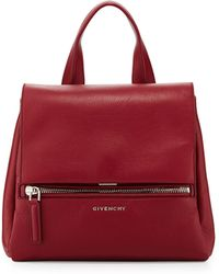 Givenchy Pandora Small Leather Satchel - Lyst
