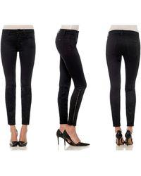 Joe's Jeans Pintuck Corset Skinny Ankle - Lyst