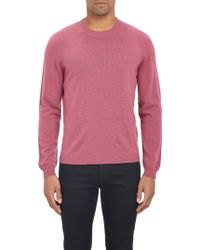 Barneys New York Cashmere Pullover Sweater - Lyst