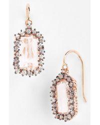 Kalan By Suzanne Kalan Barrel Drop Earrings - Lyst
