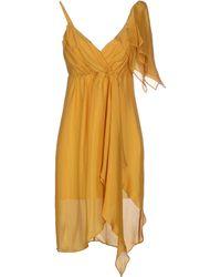 Tonello Short Dress - Lyst