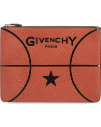 Givenchy Basketball Pouch Brown - Lyst