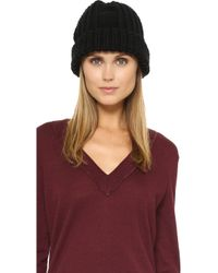 1717 Olive - Cable Knit Beanie - Lyst