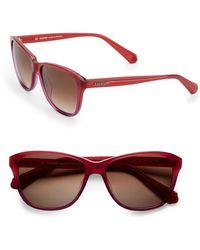 Balmain Square Gradient Sunglasses - Lyst