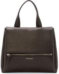 Givenchy Black Leather Medium Pandora Bag - Lyst