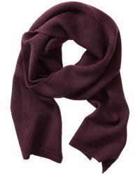 Banana Republic Extra Fine Merino Wool Scarf - Classic Burgundy - Lyst