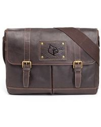 Jack Mason Brand - 'gridiron - Louisville Cardinals' Leather Messenger Bag - Lyst