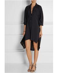 Vivienne Westwood Anglomania Faith Woven Shirt Dress - Lyst