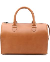 Clare V. - Sandrine Satchel - Cuoio - Lyst