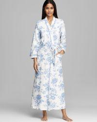 Carole Hochman - Timeless Floral Long Robe - Lyst