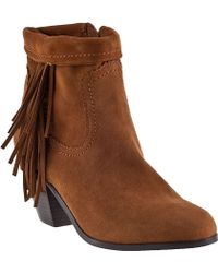 Sam Edelman Louie Ankle Boot Coco Suede brown - Lyst