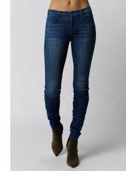 J Brand | Mid-rise Super Skinny Jean | Lyst
