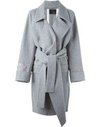 Avelon - Belted Wool Coat - Lyst