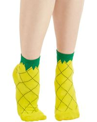 Ana Accessories Inc Fruit As Can Be Socks - Lyst
