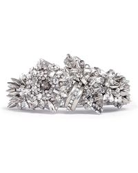 Erickson Beamon The Shining Spikes and Crystals Embellished Bracelet - Lyst