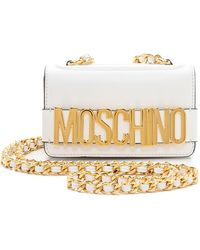 Moschino Mini Bag - White - Lyst