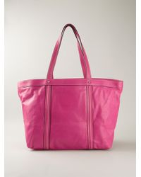 Dolce & Gabbana Miss Bye Bye Leather Tote - Lyst
