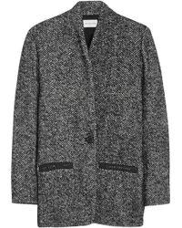 Etoile Isabel Marant Denver Tweed Coat - Lyst