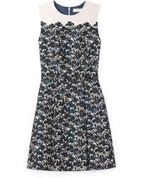 Tory Burch Blue Rayna Dress - Lyst