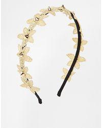 Asos Limited Edition Flower Spike Headband - Lyst