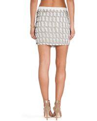 MLV - Madelaine Sequin Skirt - Lyst