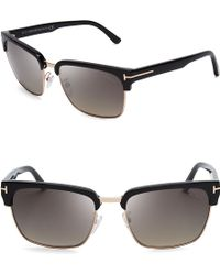 Tom Ford Polarized River Wayfarer Sunglasses - Lyst
