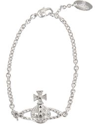 Vivienne Westwood Mayfair Low Relief Bracelet - Lyst
