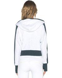 Blanc and Noir - Colorbock Hoodie - Lyst