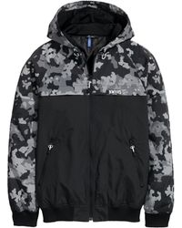 H&M Hooded Jacket black - Lyst