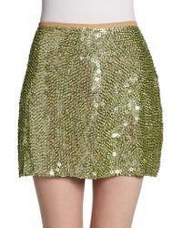 Yumi Kim Ana Sequin Mini Skirt - Lyst