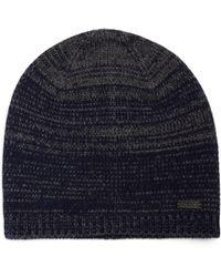 John Varvatos   Ombre Knit Wool & Cashmere Skull Hat   Lyst