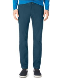 Calvin Klein | Sateen Slim Fit Pants | Lyst