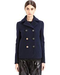 Paco Rabanne New Season - Womens Buttoned Wool Jacket - Lyst