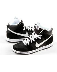 "Nike Sb Dunk High Pro ""Venom"" black - Lyst"