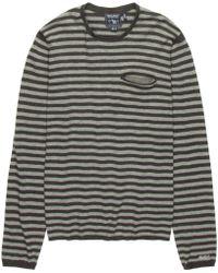 Woolrich | Dry Slub Crew Sweater | Lyst