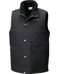 Columbia - Menamins Pass Quilted Vest - Lyst