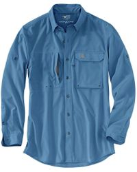 Carhartt - Force Extremes Angler Long-sleeve Shirt - Lyst