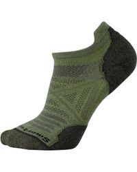 Lyst smartwool phd outdoor ultra light mini low cut socks in green smartwool phd outdoor light micro sock lyst aloadofball Image collections