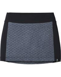 93d5d3c5d Helmut Lang Angled Peak Jacquard Skirt in Green - Lyst