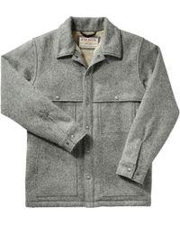 Filson - Lined Wool Cape Coat - Lyst