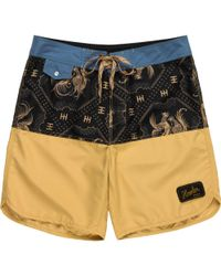 7472a76e87695 Lyst - Rip Curl Printed Board Shorts in Black for Men